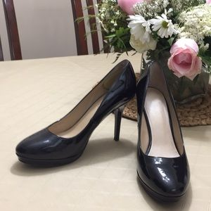 Black shiny patented leather by Mark Fisher 71/2